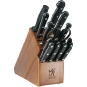 J.A. Henckels Classic 16-pc. Knife Set + Block