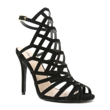 jcpenney.com | Qupid Ara 71 Caged High Heel Sandals