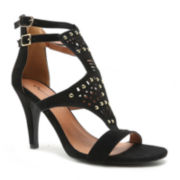Qupid Ilicia 85 Studded Pumps