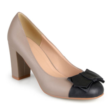 jcpenney.com | Journee Collection Tash Colorblock Pumps