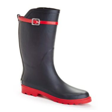 jcpenney.com | Henry Ferrera Nu Face Belted Tall Rubber Rain Boots