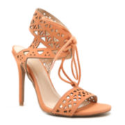 Qupid Ara 86 Cut-out High Heel Sandals