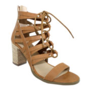 Olivia Miller Ghillie Lace-Up Sandals