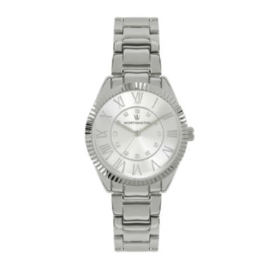 jcpenney.com | Worthington® Ladies Silvertone Bracelet Watches