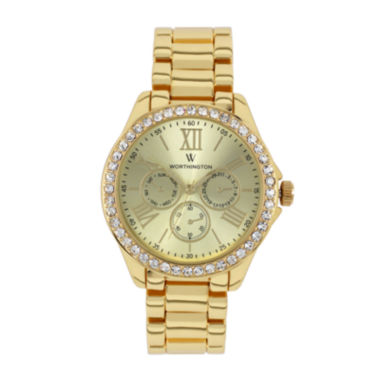 jcpenney.com | Worthington® Ladies Gold Tone Bracelet Watches