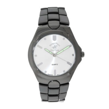 jcpenney.com | Beverly Hills Polo Club Mens Gunmetal Bracelet Watch