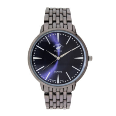 jcpenney.com | Beverly Hills Polo Club Mens Blue Dial Bracelet Watches