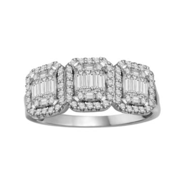 jcpenney.com | LIMITED QUANTITIES  3/4 CT.T.W. Diamond 14K White Gold Ring
