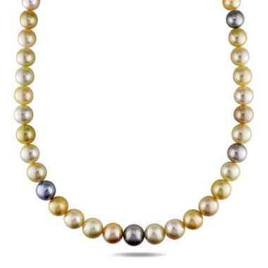 "jcpenney.com | 9-12mm Genuine South Sea &Tahitian Pearl 8"" Strand Necklace"