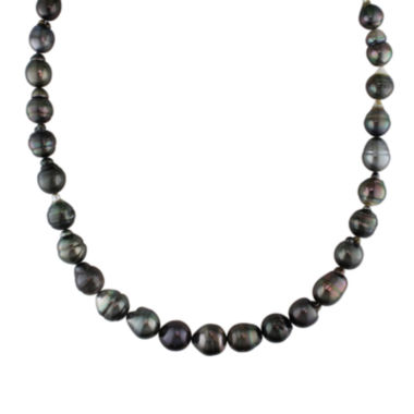 jcpenney.com | 8-10mm Genuine Black Tahitian Pearl Necklace