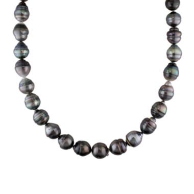 jcpenney.com | 10-13mm Genuine Black Tahitian Pearl Necklace