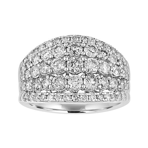 2 CT. T.W. Diamond 14K White Gold Ring