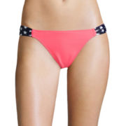 Arizona American Spirit Side-Tab Hipster Swim Bottoms - Juniors