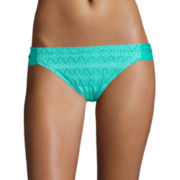 Arizona Kitty Crochet Hipster Swim Bottoms - Juniors