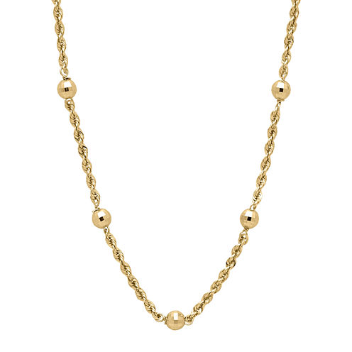 Infinite Gold™ 14K Yellow Gold Station Necklace