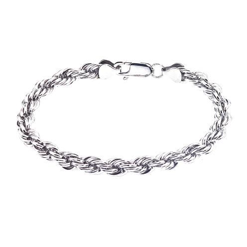 Mens Stainless Steel Rope Bracelet
