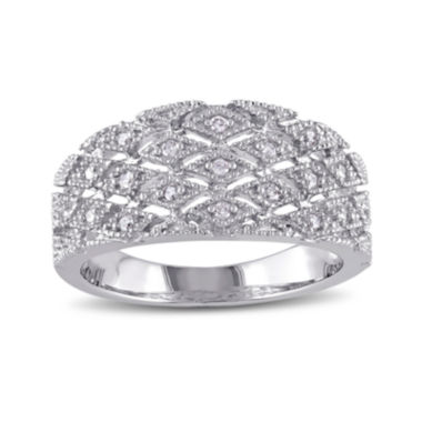 jcpenney.com | 1/10 CT. T.W. Diamond Sterling Silver Ring