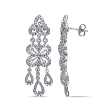 jcpenney.com | Diamond Accent Sterling Silver Drop Earrings