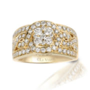 Le Vian Grand Sample Sale  1 1/5 CT. T.W. Vanilla Diamond 14K Honey Gold Ring