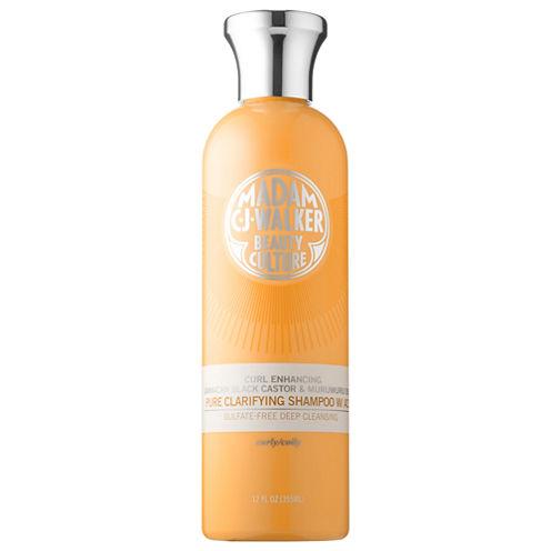 Madam C.J. Walker Jamaican Black Castor & Murumuru Oils Pure Clarifying Shampoo with ACV