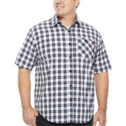 Ecko Unltd.® Riff Raff Short-Sleeve Woven Cotton Shirt - Big & Tall