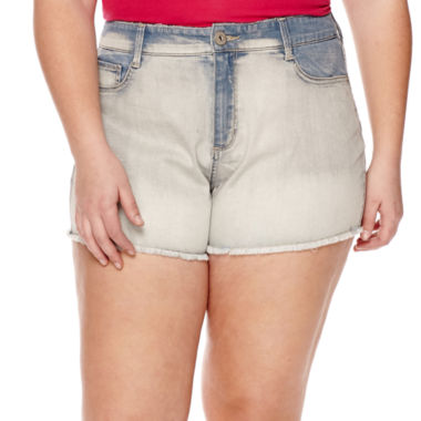 jcpenney.com | Arizona High-Rise Shorts - Juniors Plus