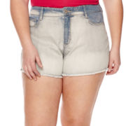 Arizona High-Rise Shorts - Juniors Plus