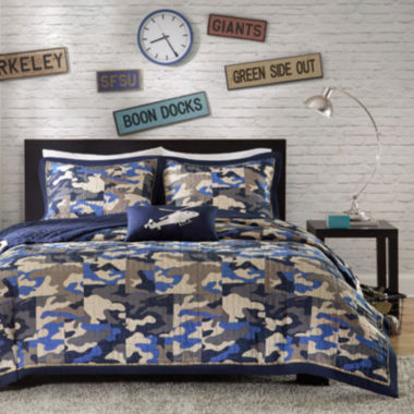 jcpenney.com | Mi Zone Andrew Camo Coverlet Set & Accessories