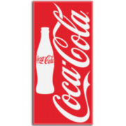 Coca Cola Red Bottles Cotton Beach Towel