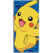 Pokemon Day Off Cotton Beach Towel