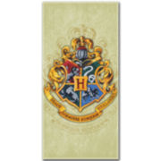Harry Potter Parchment Crest Cotton Beach Towel
