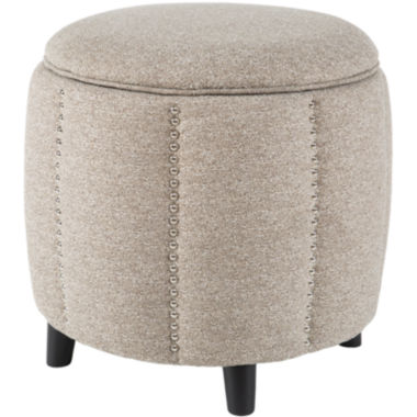 jcpenney.com | Madison Park Easton Scallop Storage Ottoman