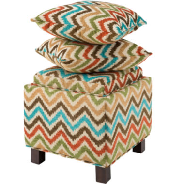 jcpenney.com | Madison Park Allison Square Storage Ottoman