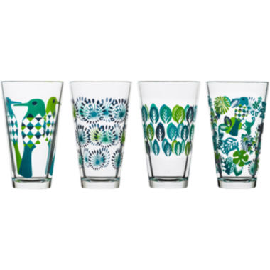 jcpenney.com | Sagaform® Fantasy Set of 4 Large Glasses
