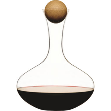 jcpenney.com | Sagaform® Large Wine Carafe with Oak Stopper