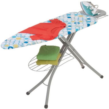 "jcpenney.com | Honey-Can-Do® 18x48"" Ironing Board with Rest & Shelf"