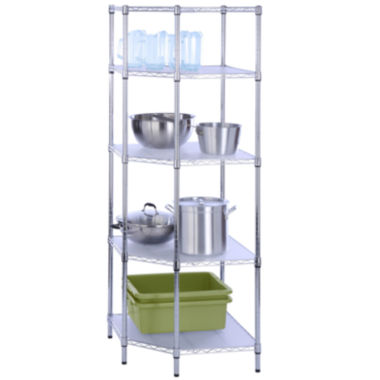 jcpenney.com | Honey-Can-Do® 5-Tier Corner Shelf