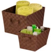Honey-Can-Do® 2-pc. Woven Basket Set