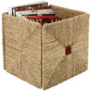Honey-Can-Do® Folding Seagrass Basket