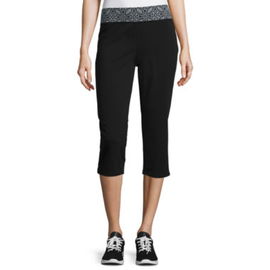 jcpenney.com | Made for Life™ Yoga Capris - Tall