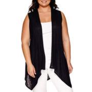Alyx® Sleeveless Lace-Back Vest - Plus