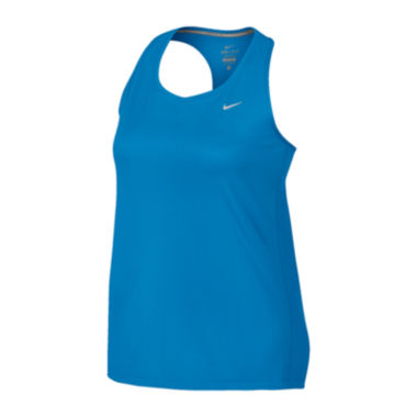 jcpenney.com | Nike® Miler Running Tank Top - Plus