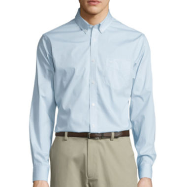 jcpenney.com | Dockers® On-the-Go Mini-Plaid Shirt