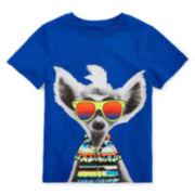 Okie Dokie® Short-Sleeve Graphic Tee – Toddler Boys 2t-5t