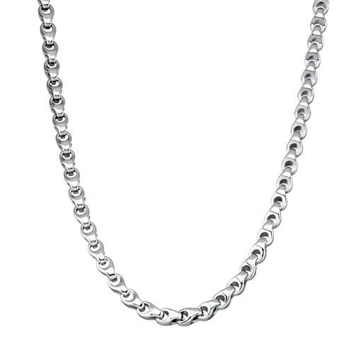 Stainless Steel 24 Inch Chain Necklace