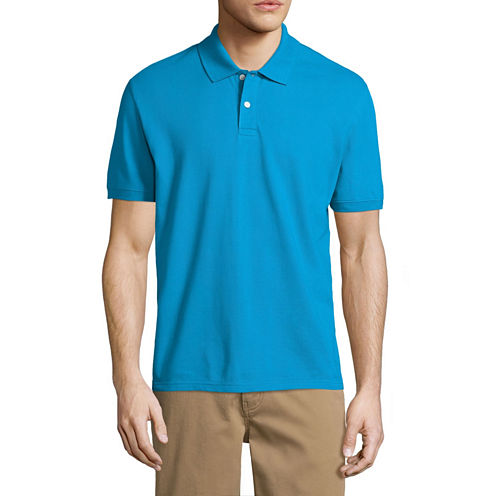 City streets short sleeve pique polo shirt jcpenney for Jcpenney ladies polo shirts