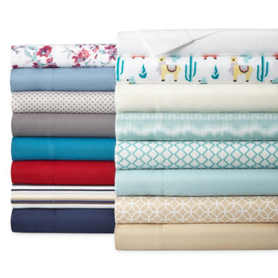 Home Expressions Microfiber Easy Care Wrinkle Resistant Sheet Set