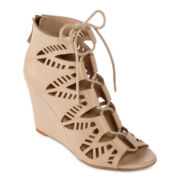 a.n.a® Piper Wedge Booties