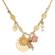 Delicates by PALOMA & ELLIE Multi-Charm Statement Necklace