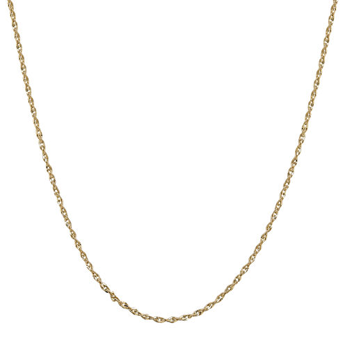 """Infinite Gold™ 14K Yellow Gold 20"""" Perfectina Chain Necklace"""